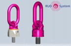 VWBG-V et VWBG: anneaux de levage à émerillon à maillon