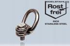 LBG-RS: anneau décentré à grande ouverture version inox