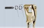 VIP-Sicherungselemente Cobra-Gabelkopfhaken - Federn nur als VPE lieferbar