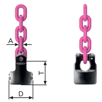 Navařovací vázací bod pevný WPPH, RUD
