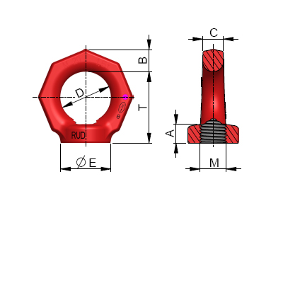 Vázací bod RM - RUD